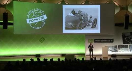 QtWS18 Keynote – The Invisible Touch by Murat Günak, Former Head of Design at Peugeot