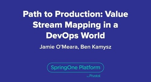 Path to Production: Value Stream Mapping in a DevOps World