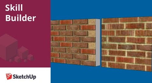 [Skill Builder] Modeling a Brick Wall