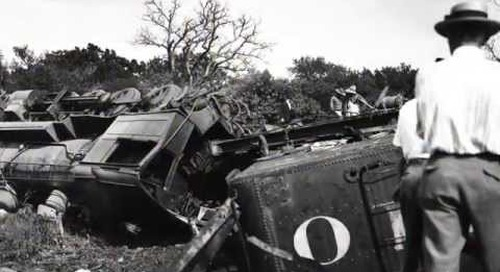 The Derailment of Camp MacArthur's Troop Train No. 264