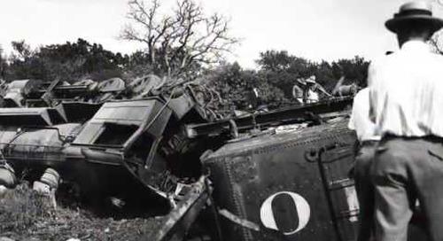 The Derailment of Camp MacArthur's Troop Train No. 264