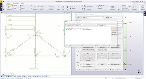Object Level Settings with Tekla Structures