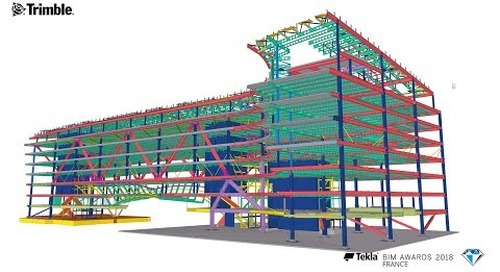 Tekla France BIM Awards 2018 -  EIFFAGE METAL : Siège Le Monde