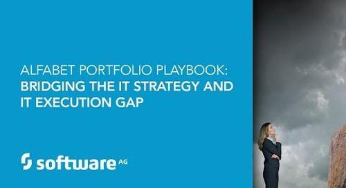 Alfabet Portfolio Playbook: Bridging the IT Strategy and IT Execution Gap