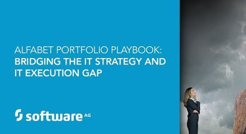 Alfabet Portfolio Playbook: Bridging the IT Strategy and IT Execution Gap