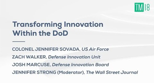 Transforming Innovation within the DoD - Time Machine 2018