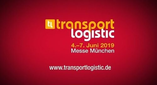 transport logistic | Start der transport logistic 2019