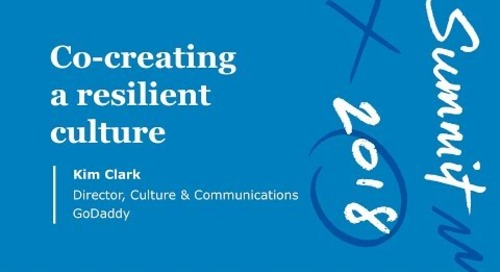Co-Creating a Resilient Culture | Summit 2018