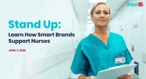 Stand Up: Learn How Smart Brands Support Nurses