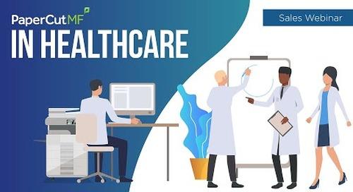PaperCut MF in Healthcare | Sales