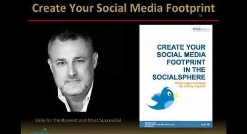 Create Your Social Media Footprint Webinar