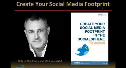 Create Your Social Media Footprint Webinar