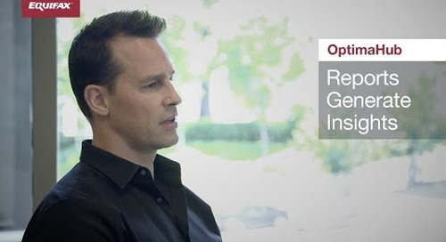 Insights for all Level - OptimaHub from Equifax