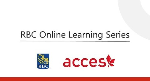 RBC Online Learning Series  - Interview Tip