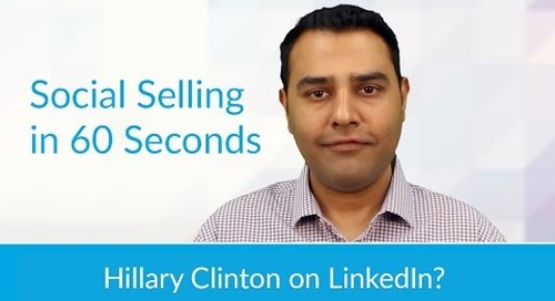 Hillary Clinton on LinkedIn?