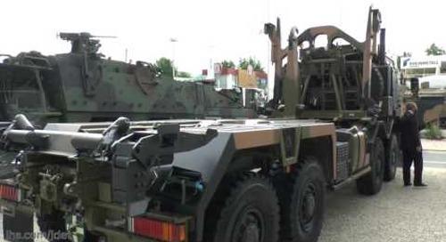 Eurosatory 2016: IHS Jane's talks to Rheinmetall MAN Military vehicles on their HX range of trucks