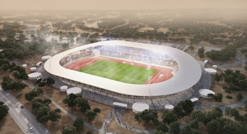 Tekla BIM Awards France 2020 : BAUDIN CHATEAUNEUF - Stade de Yamoussoukro