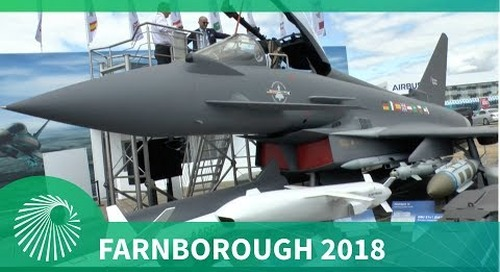 Farnborough 2018: BAE Systems update on the Eurofighter Typhoon for Belgium