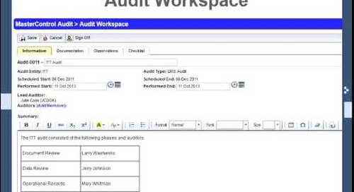 What's New in Audit