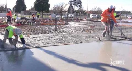 Hume City Council - HGLC Sunbury Construction Progress - September 2018
