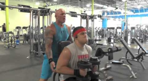 Tristen Hoge Workout