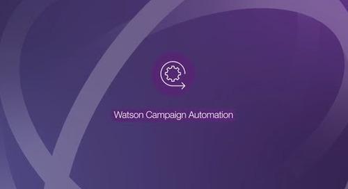 IBM Watson Marketing Automation