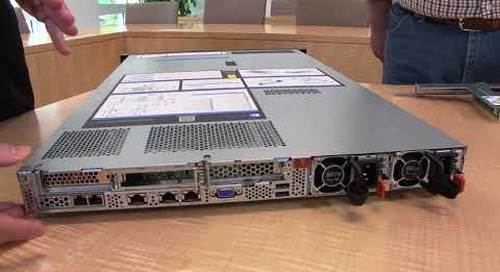 Lenovo ThinkSystem SR530 Server Video Walkthrough