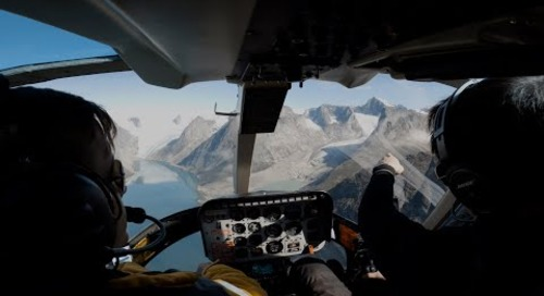 Helicopter Flightseeing in the Polar Regions