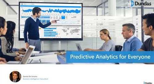 Predictive Analytics for Everyone
