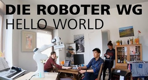 Die Roboter-WG - Hello World!