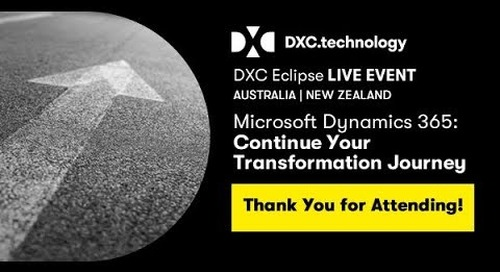 Thank you for supporting our Microsoft Dynamics 365 Live Events!