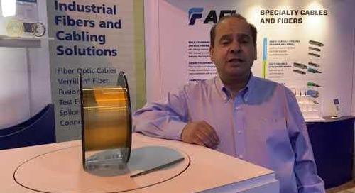 Abdel talks new specialty optical fiber products at OTC 2019