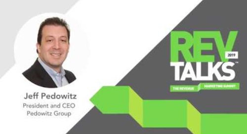 Jeff Pedowitz Introduces RevTalks during B2BMX
