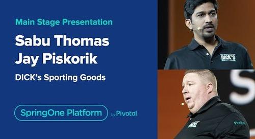 Judy Wang, Jay Piskorik and Sabu Thomas at SpringOne Platform 2019