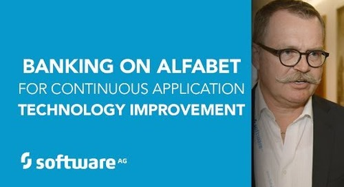 Banking on Alfabet for Continuous Application Technology Improvement