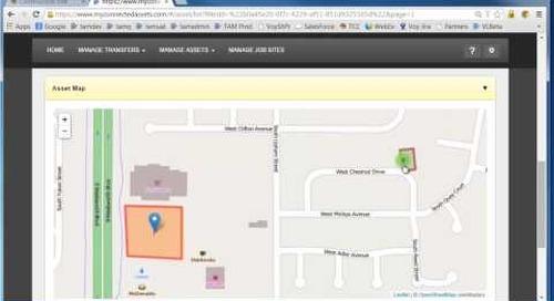 Trimble Asset Manger - Using Map Features