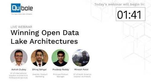 Winning Open Data Lake Architectures - Ad-hoc Analytics, Streaming Analytics & Machine Learning