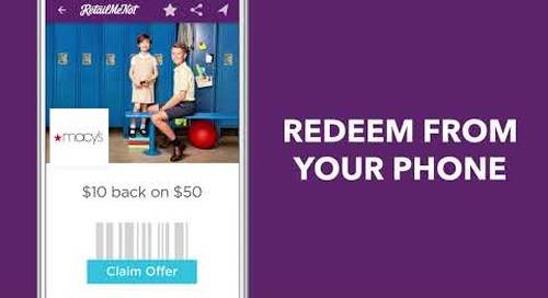 Download the Free RetailMeNot app!