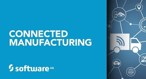 Software AG's Connected Manufacturing