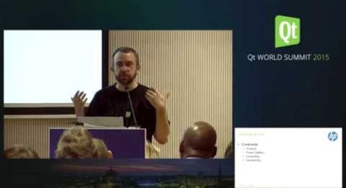 QtWS15- Practical aspects of crash reporting, analytics and connectivity, Attila Csipa, PulseOn oy