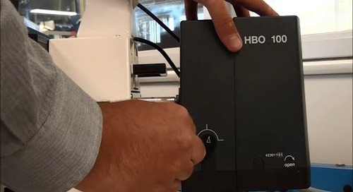ZEISS Microscopy How-to: Replace the HBO 100 bulb in your microscope