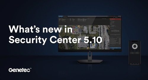 Security Center 5.10 in 5 minutes