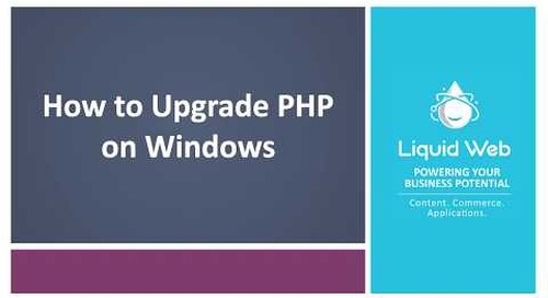 How to Upgrade PHP on Windows