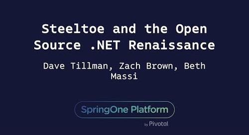 Steeltoe and the Open Source .NET Renaissance - Beth Massi, Zach Brown, Dave Tillman