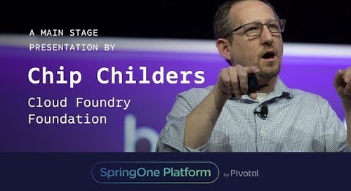 Chip Childers at SpringOne Platform 2017