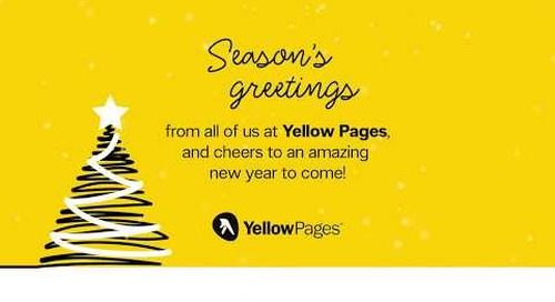 2017 Yellow Pages Holiday Card