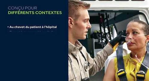 Vidéo sur le fonctionnement de base du moniteur respiratoire portatif Capnostream™ 35