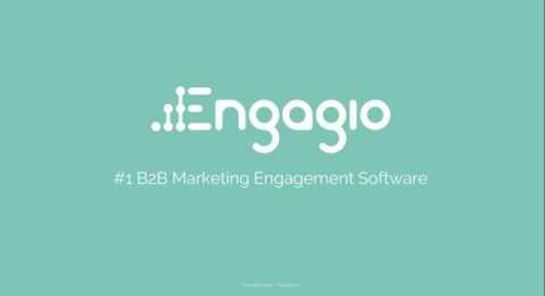 Demo of Engagio's Marketing Engagement Platform