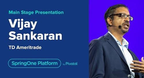 Vijay Sankaran at SpringOne Platform 2019