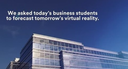 Our new virtual reality, as told by top business students.